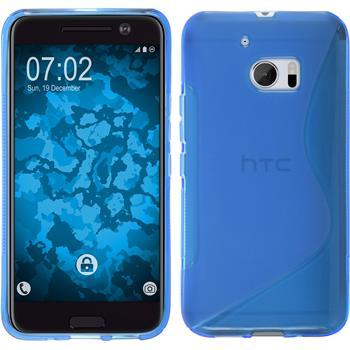 Silikon Hülle 10 S-Style blau