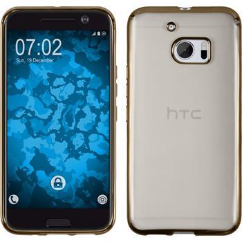 Silikonhülle für HTC 10 Slim Fit gold