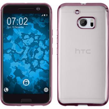 Silikonhülle für HTC 10 Slim Fit pink