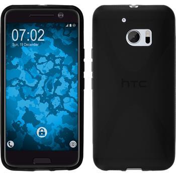 Silikonhülle für HTC 10 X-Style schwarz