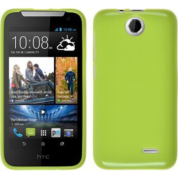 Silikonhülle für HTC Desire 310 Candy grün