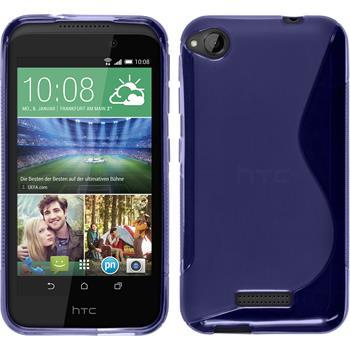Silikonhülle für HTC Desire 320 S-Style lila