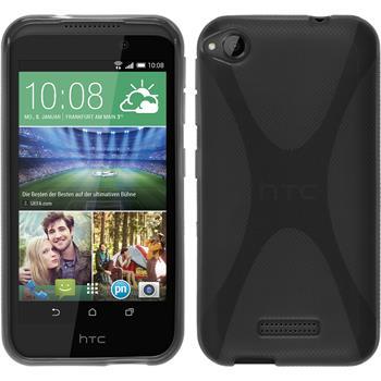 Silikonhülle für HTC Desire 320 X-Style grau