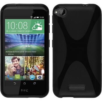 Silikonhülle für HTC Desire 320 X-Style schwarz