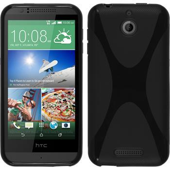 Silikonhülle für HTC Desire 510 X-Style schwarz