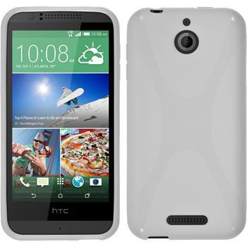 Silikonhülle für HTC Desire 510 X-Style weiß