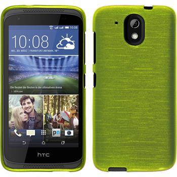 Silikon Hülle Desire 526G+ brushed pastellgrün