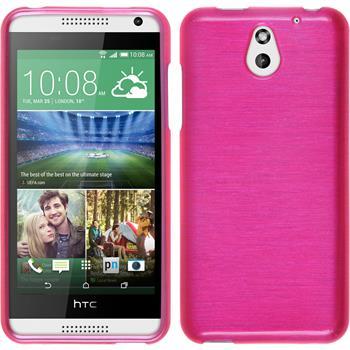 Silikon Hülle Desire 610 brushed pink