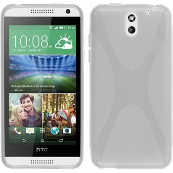 Silicone Case for HTC Desire 610 X-Style transparent