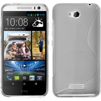 Silicone Case for HTC Desire 616 S-Style transparent