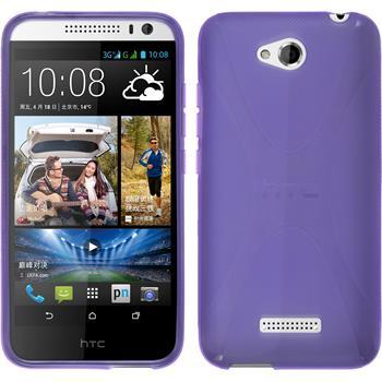 Silicone Case for HTC Desire 616 X-Style purple