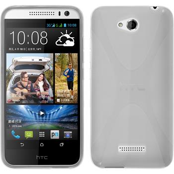 Silicone Case for HTC Desire 616 X-Style transparent