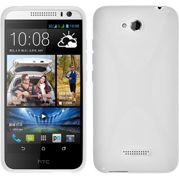 Silicone Case for HTC Desire 616 X-Style white