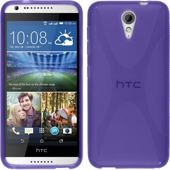 Silikonhülle für HTC Desire 620 X-Style lila