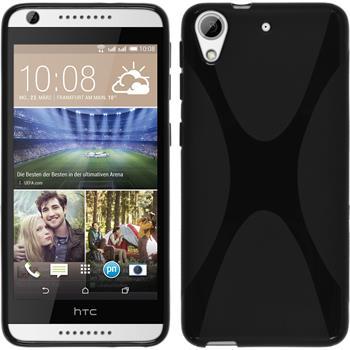 Silikonhülle für HTC Desire 626 X-Style schwarz