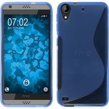 Silikon Hülle Desire 630 S-Style blau