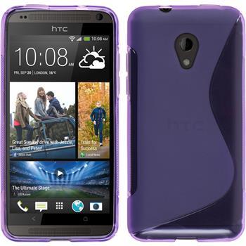 Silicone Case for HTC Desire 700 S-Style purple