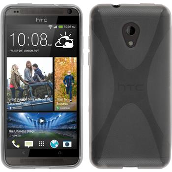 Silicone Case for HTC Desire 700 X-Style gray