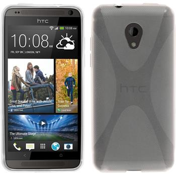 Silicone Case for HTC Desire 700 X-Style transparent