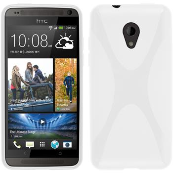 Silicone Case for HTC Desire 700 X-Style white