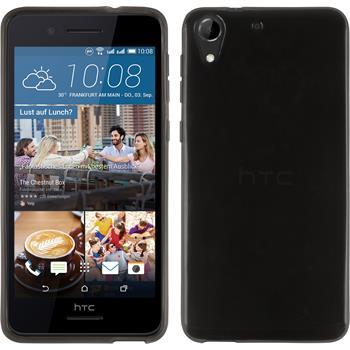 Silikonhülle für HTC Desire 728 transparent schwarz