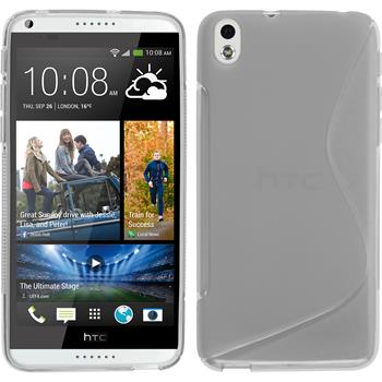 Silicone Case for HTC Desire 816 S-Style transparent