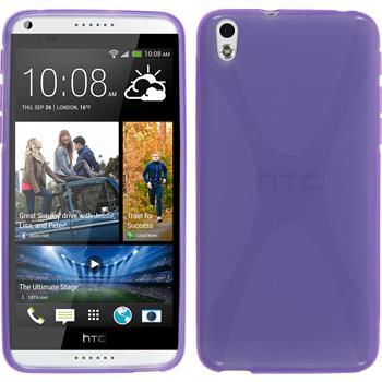 Silikonhülle für HTC Desire 816 X-Style lila