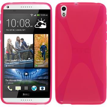Silikon Hülle Desire 816 X-Style pink