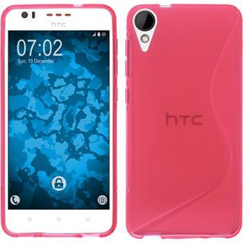 Silikonhülle für HTC Desire 825 S-Style pink