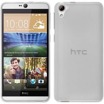 Silikonhülle für HTC Desire 826 transparent weiß