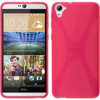 Silikon Hülle Desire 826 X-Style pink