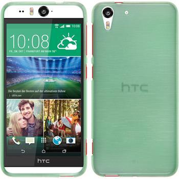 Silikonhülle für HTC Desire Eye brushed grün