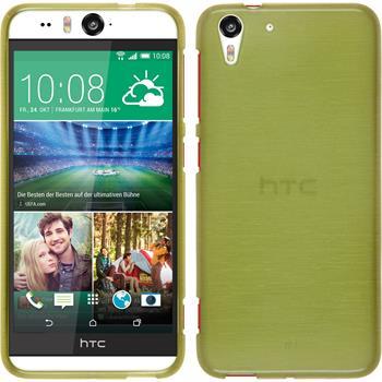 Silikonhülle für HTC Desire Eye brushed pastellgrün