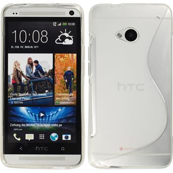 Silicone Case for HTC One S-Style transparent