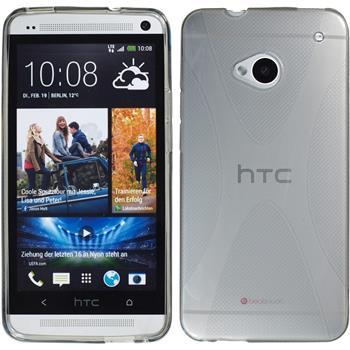 Silikonhülle für HTC One X-Style grau