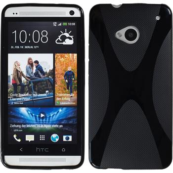 Silicone Case for HTC One X-Style black