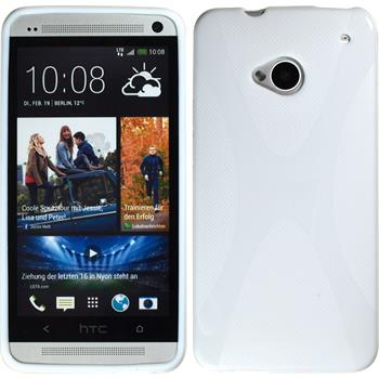 Silicone Case for HTC One X-Style white