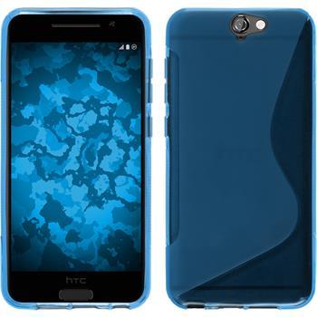 Silikon Hülle One A9 S-Style blau