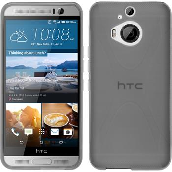 Silikonhülle für HTC One M9 Plus X-Style grau