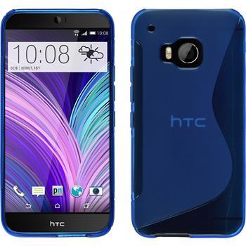Silikonhülle für HTC One M9 S-Style blau