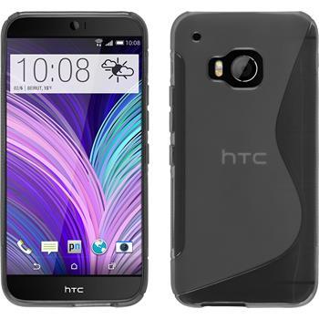 Silikonhülle für HTC One M9 S-Style grau
