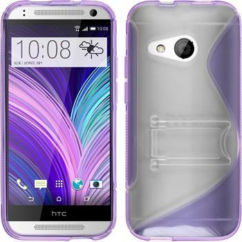 Silicone Case for HTC One Mini 2  purple