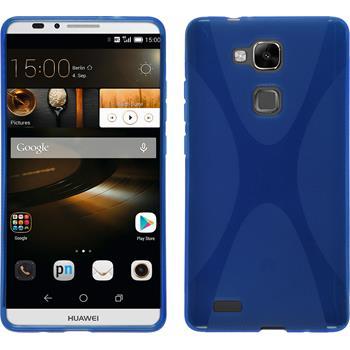 Silikon Hülle Ascend Mate 7 X-Style blau