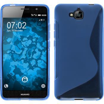 Silikon Hülle Enjoy 5 S-Style blau