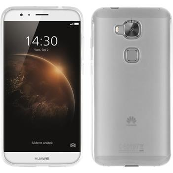 Silikonhülle für Huawei G8 transparent weiß