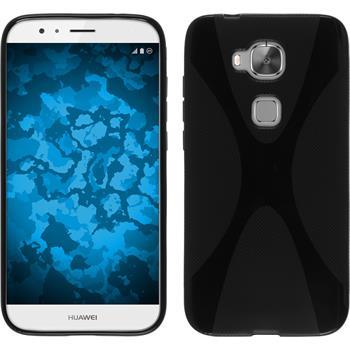 Silikonhülle für Huawei G8 X-Style schwarz