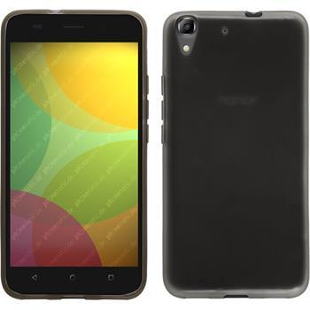 Silikonhülle für Huawei Honor 4A transparent schwarz