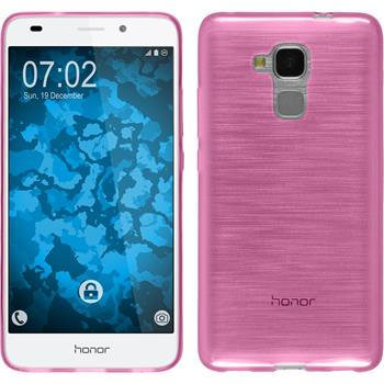 Silikon Hülle Honor 5C transparent rosa