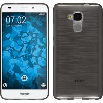 Silikon Hülle Honor 5C transparent schwarz