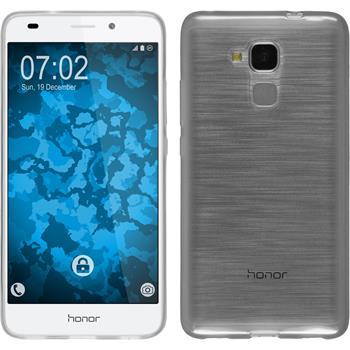 Silikon Hülle Honor 5C transparent weiß